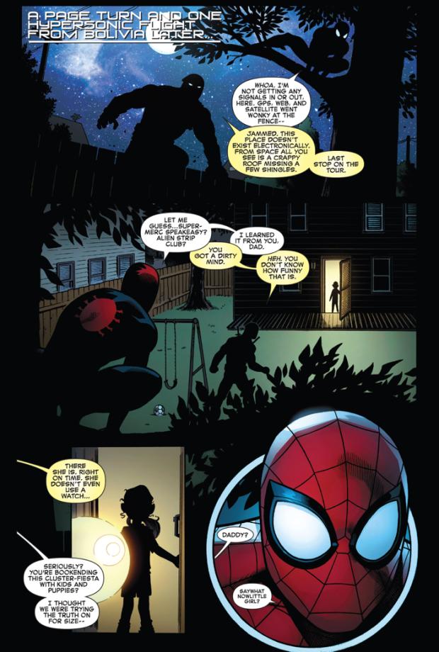 Spider-Man Meets Deadpool's Daughter
