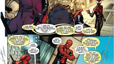 Spider-Man Miles Morales Meets Deadpool