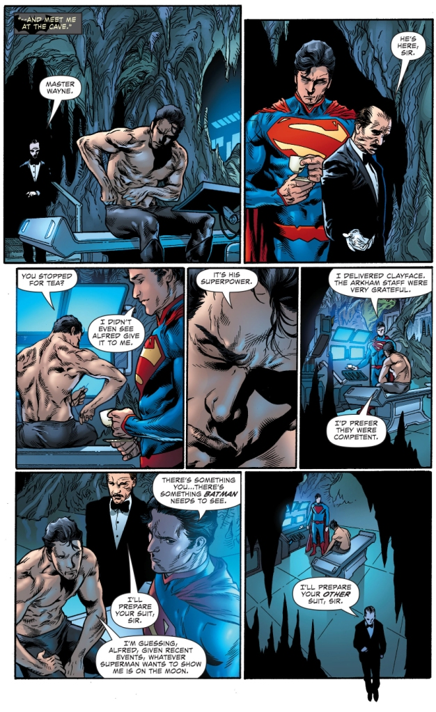 superman learns what alfred pennyworth's super power is