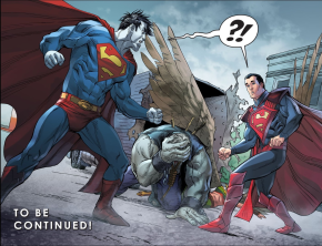 Superman Meets Solomon Grundy (Injustice Gods Among Us)