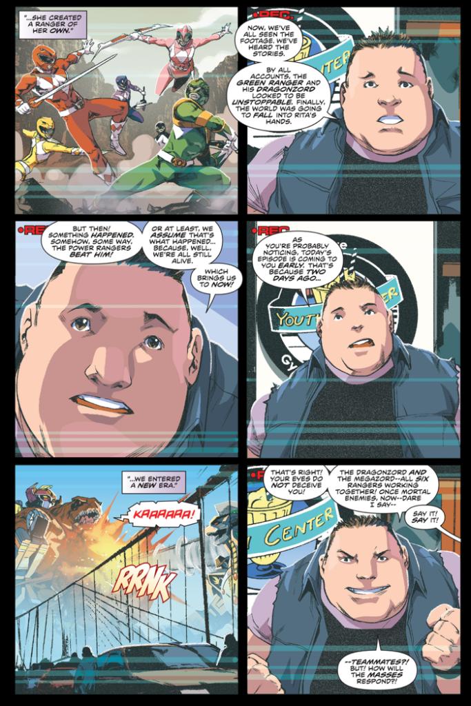 The Power Rangers According To Bulk And Skull