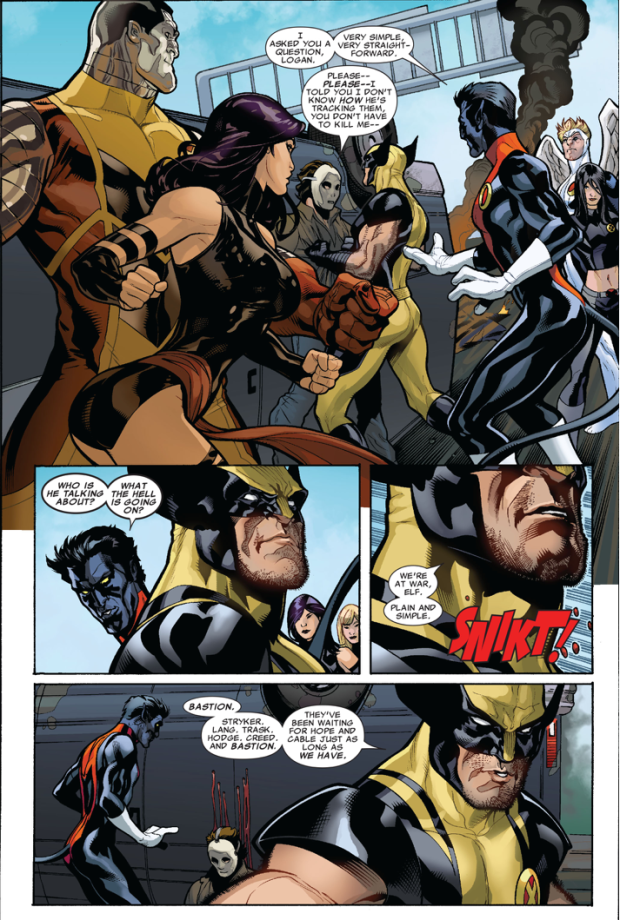 The X-Men Learns About X-Force
