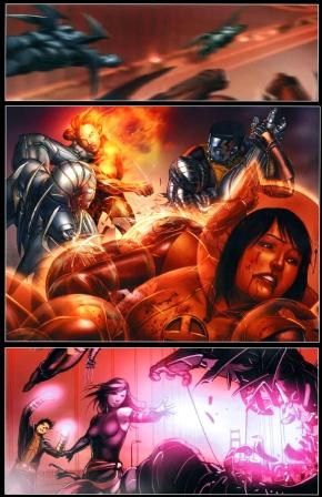 the x-men vs nimrods (second coming)