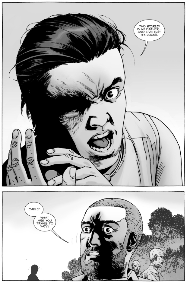 why carl grimes likes lydia