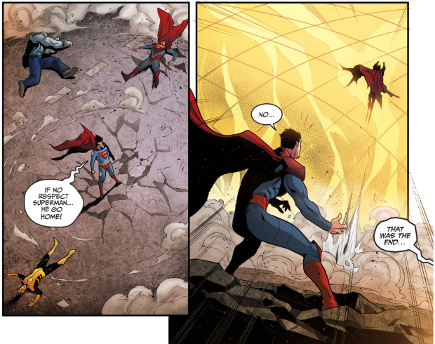 Yellow Lantern Hal Jordan VS Bizarro (Injustice Gods Among ...