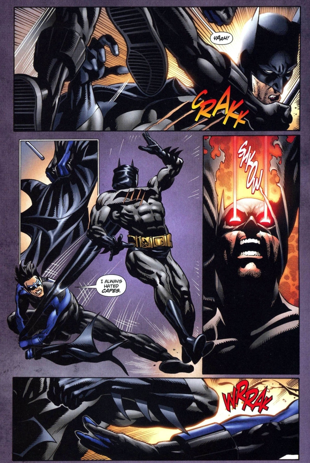 Nightwing vs batman