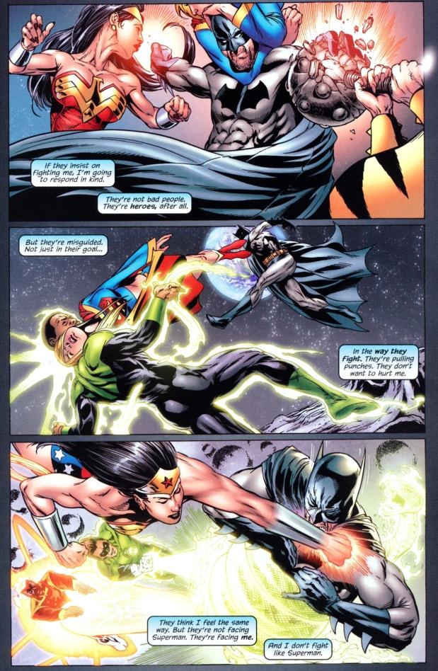 batman vs the justice league (superbat)