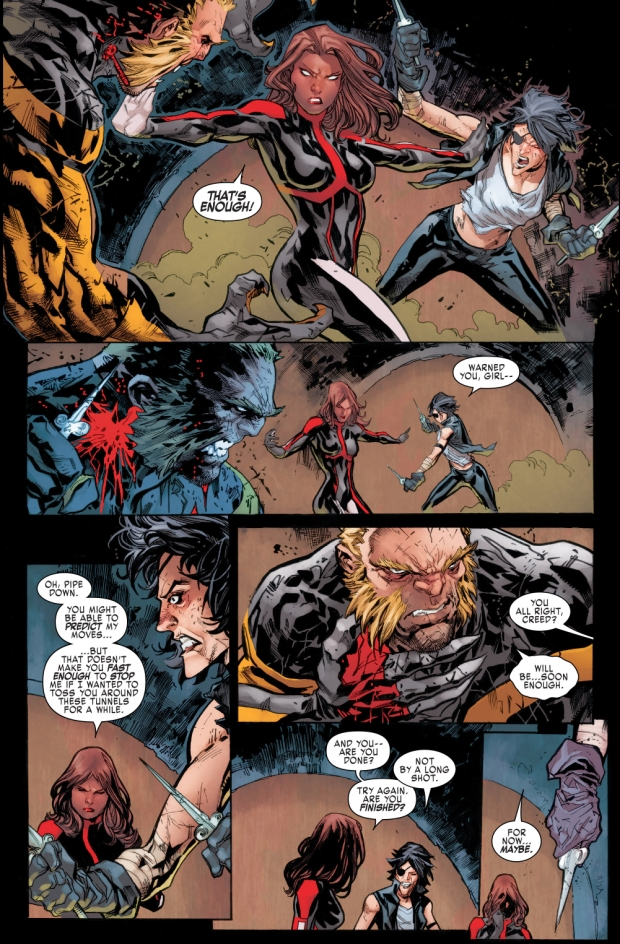 callisto vs sabretooth