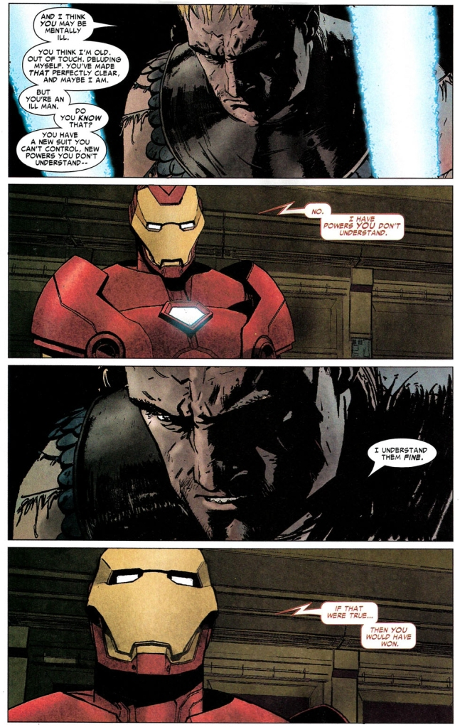 captain america asks iron man if it was worth it