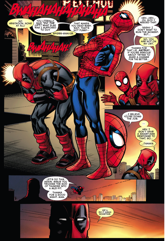 deadpool and spiderman comic - photo #12