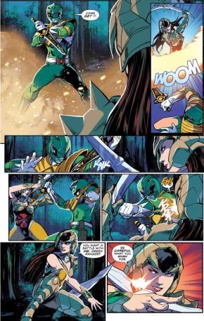 Green Ranger VS Scorpina