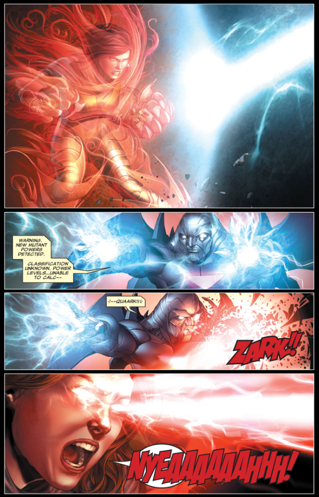 Hope Summers VS Bastion (Second Coming)