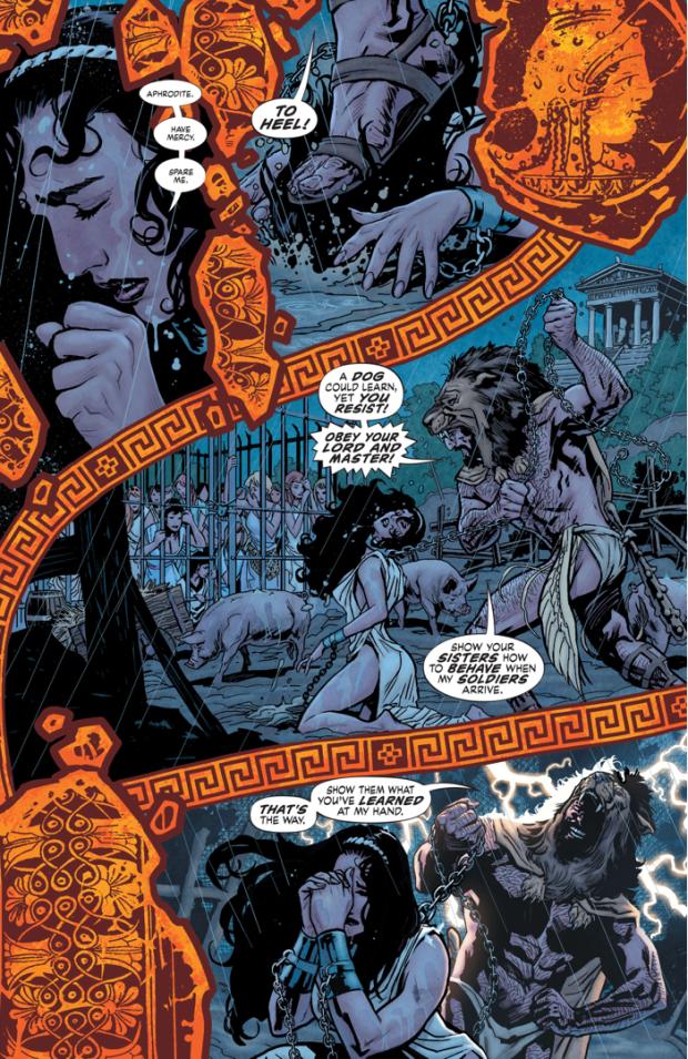 Hyppolita Kills Hercules (Earth 1)