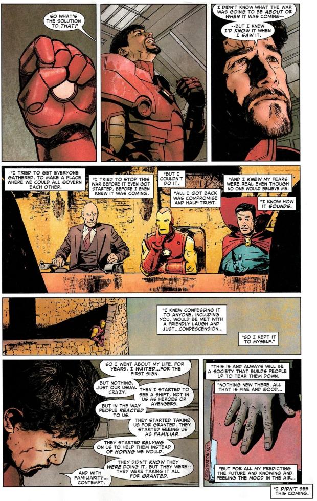 iron man mourns captain america  civil war
