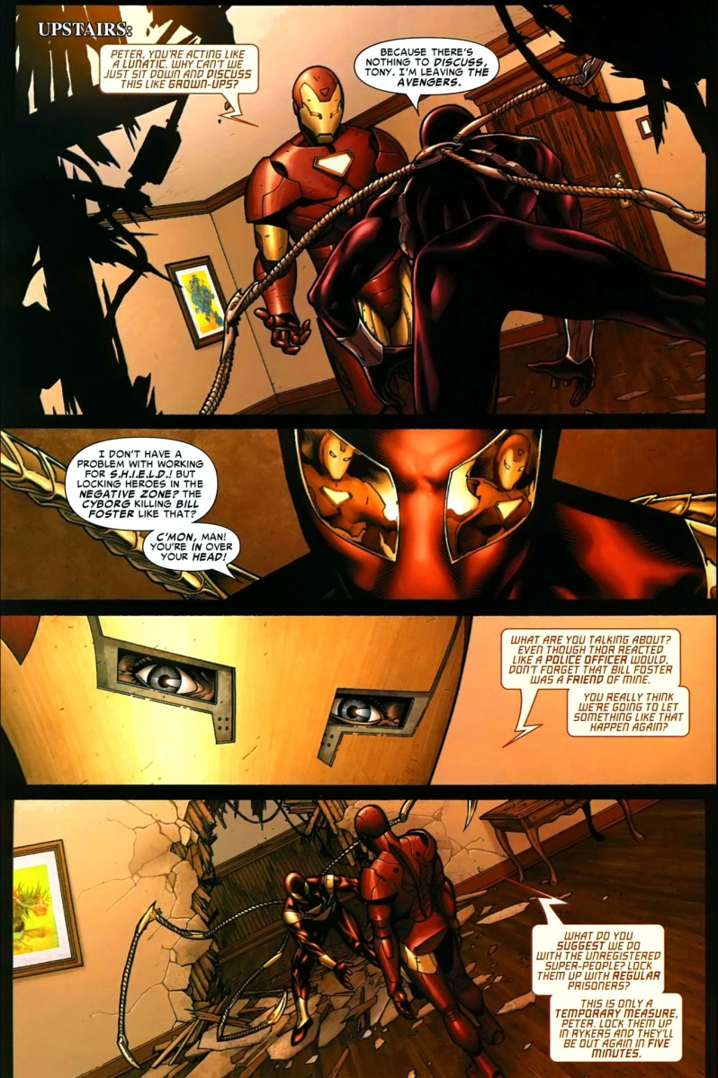 Iron Spider-Man Vs Iron Man  Comicnewbies-3009