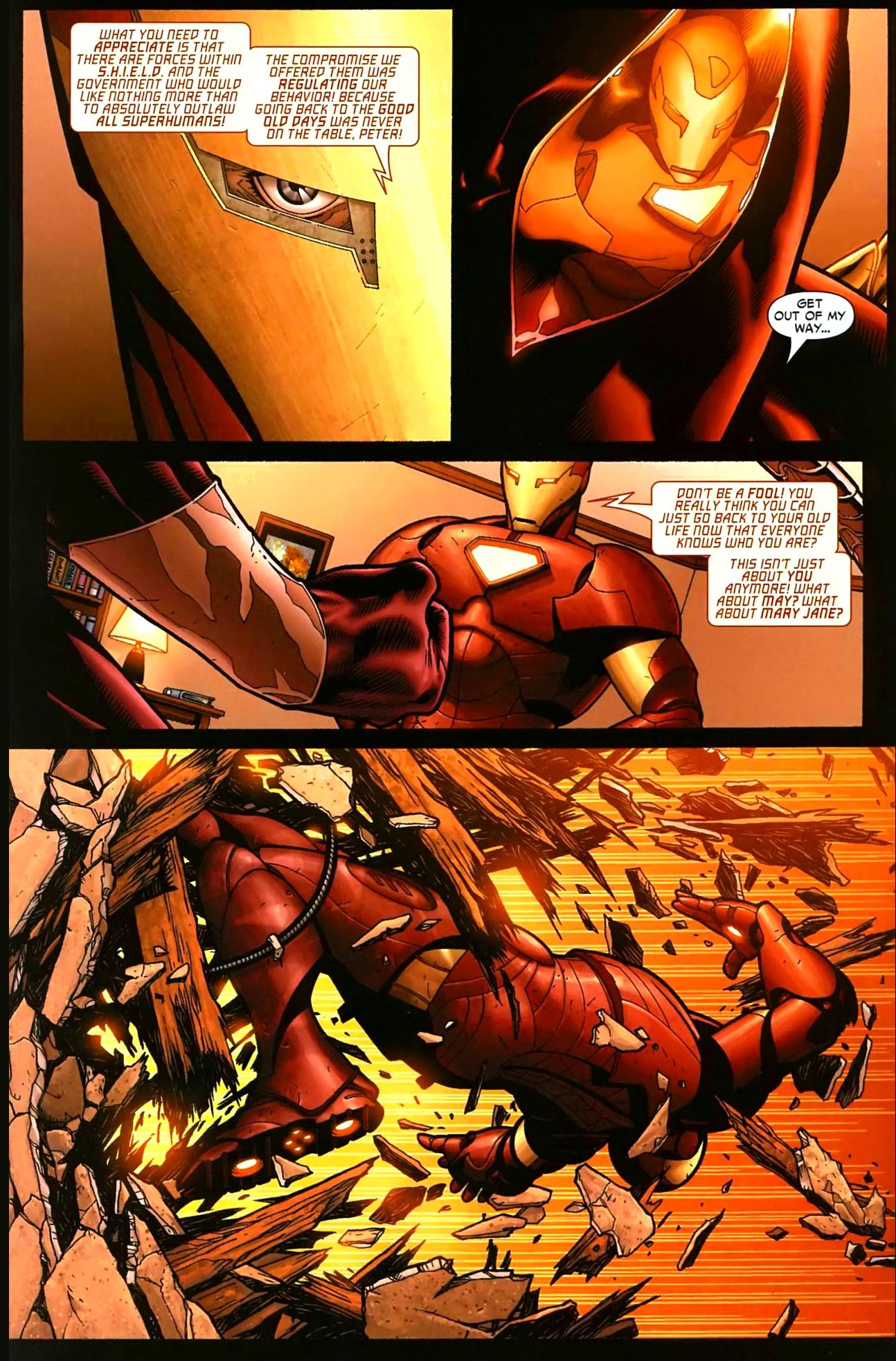 Iron spiderman vs spiderman - photo#4