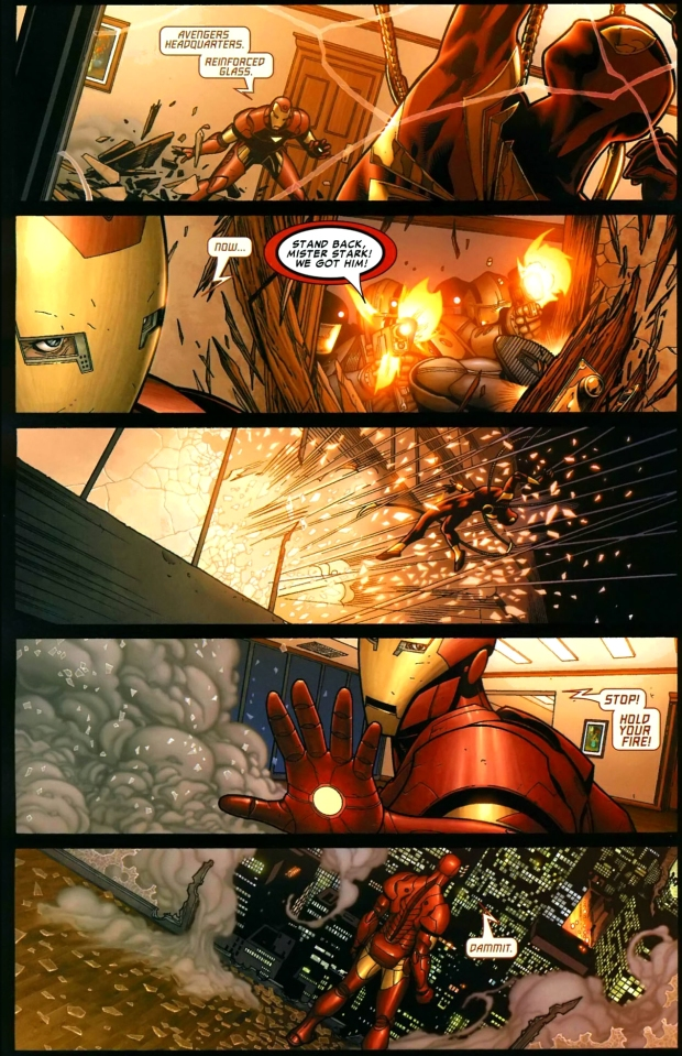 Iron Spider-Man VS Iron Man   Comicnewbies