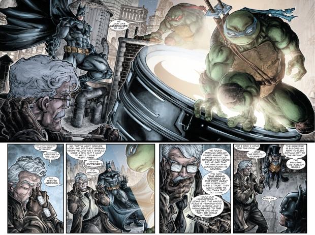 jim gordon meets the teenage mutant ninja turtles