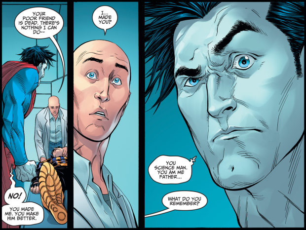 Lex Luthor Meets Bizarro (Injustice Gods Among Us)