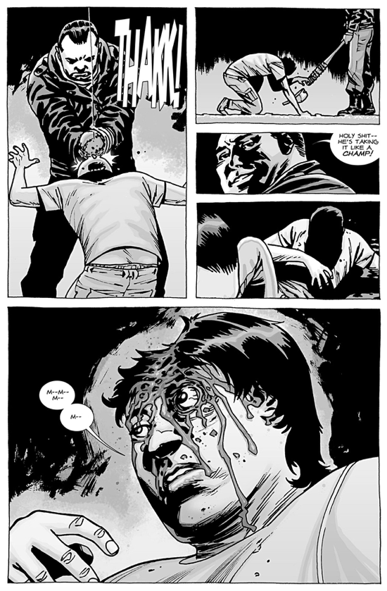 Negan Kills Glenn Rhee
