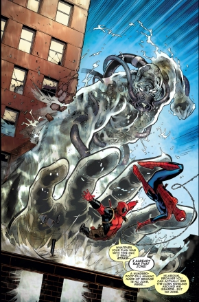 spider-man and deadpool vs hydro-man