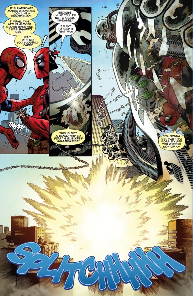 spider-man and deadpool vs hydro-man