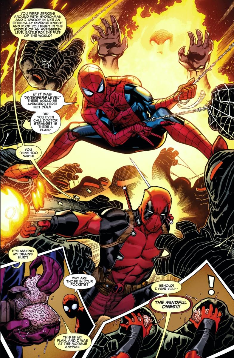 deadpool and spiderman comic - photo #15