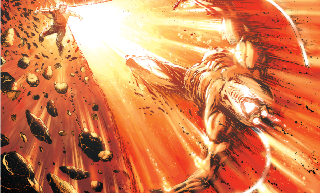 Steve Trevor Kills Mobius