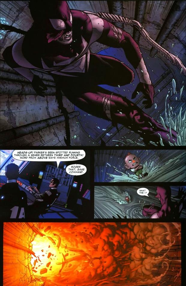 the jester and jack o lantern ambushes spider-man