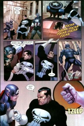 the punisher doesn't kill cops (civil war)