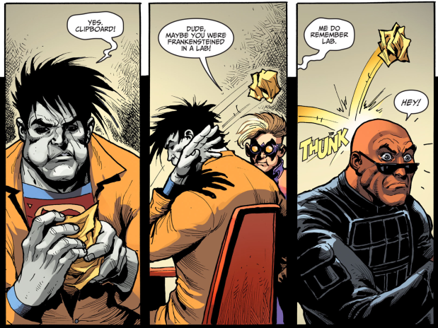 The Trickster Beating Up Thugs (Injustice Gods Among Us)