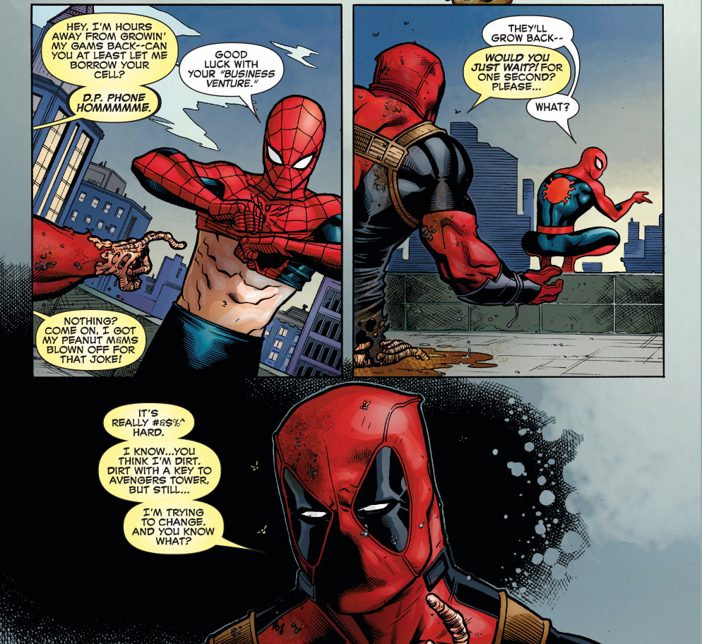 Why Deadpool Wants To Hang With Spider-Man