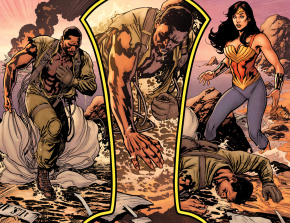 Wonder Woman Meets Steve Trevor (Earth 1)