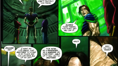 Apollo Give Freddy Freeman Half Of His Powers (Trials Of Shazam)
