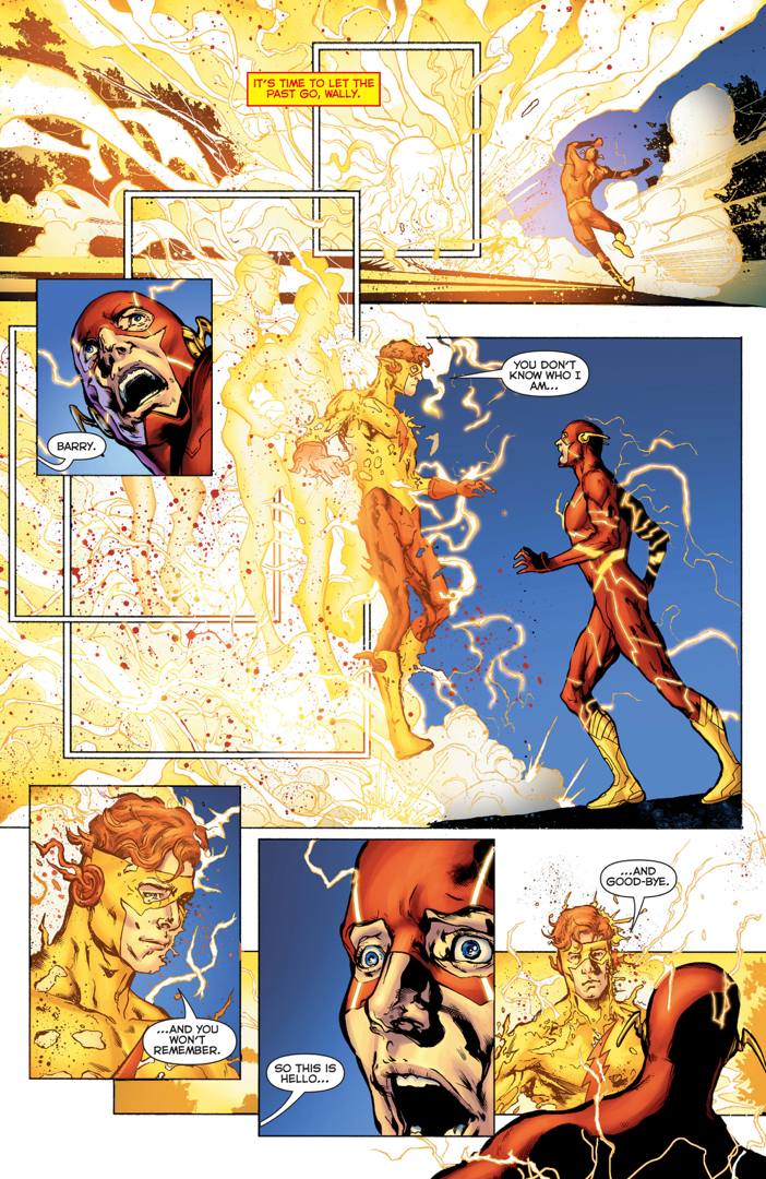 Barry allen remembers the original wally west rebirth comicnewbies barry allen remembers the original wally west rebirth altavistaventures Choice Image