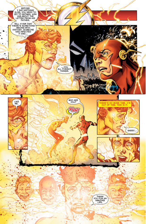Barry Allen Remembers The Original Wally West (Rebirth)