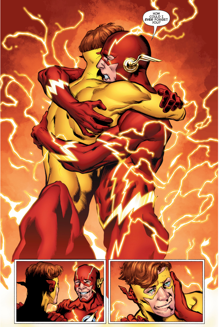Barry Allen Remembers The Original Wally West Rebirth
