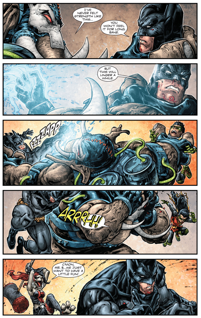 Batman And Robin VS Mutated Arkham Inmates