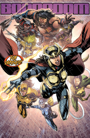 Big Barda And The Furies VS Darkseid (Darkseid War)