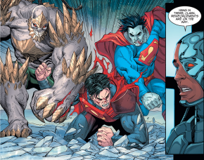 Bizarro And Doomsday VS Superman (Injustice Gods Among Us)
