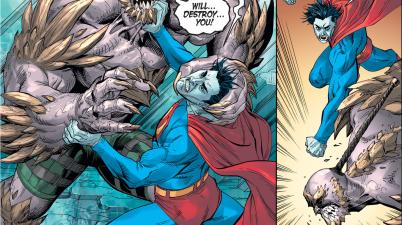 Bizarro VS Doomsday (Injustice Gods Among Us)