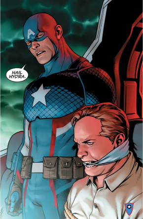 Captain America Is Part Of Hydra