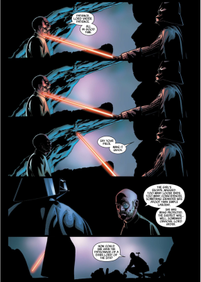 Darth Vader Kills Inspector Thanoth