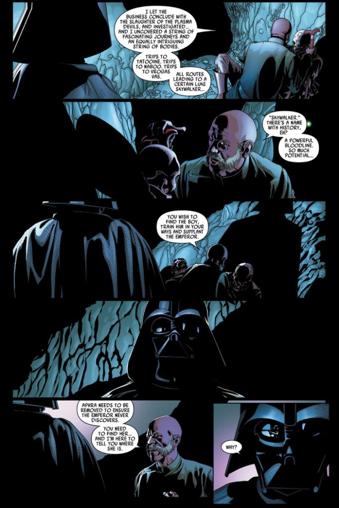 Darth Vader Kills Inspector Thanoth