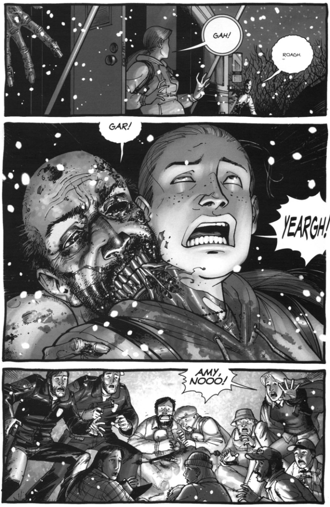Death Of Amy (The Walking Dead)