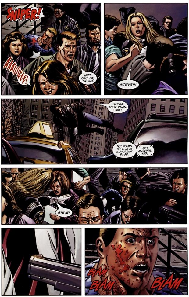 death of captain america (civil war)