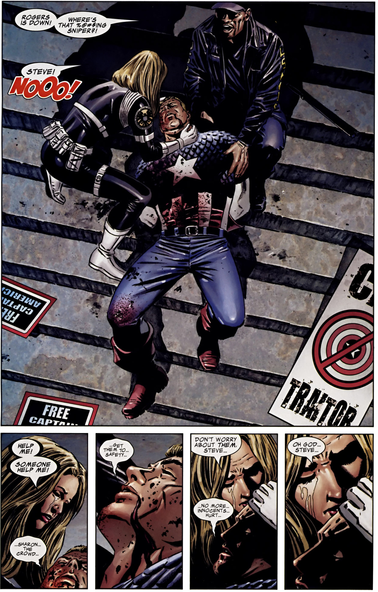 Image result for captain america death