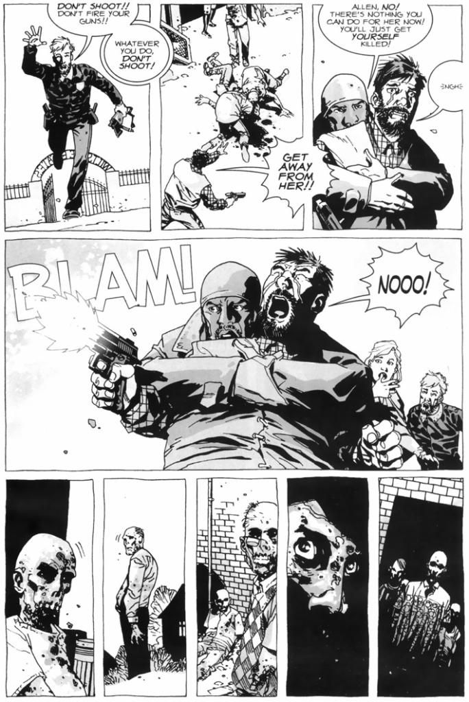 Donna Gets Bitten (The Walking Dead)