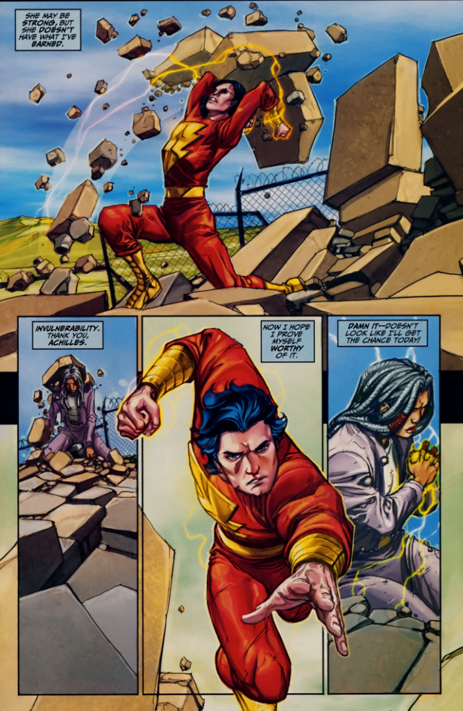 Freddy Freeman Passes The Trial Of Hercules (Trials Of Shazam)
