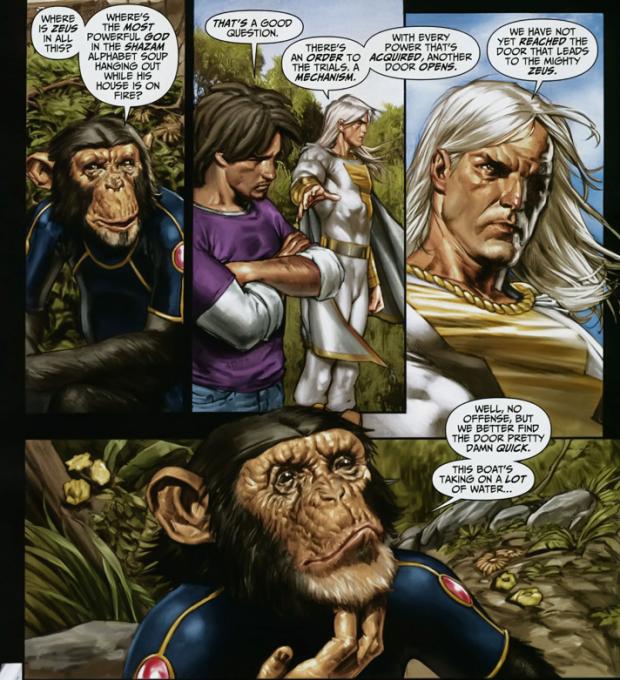 Freddy Freeman Recruits Shadowpact (Trials Of Shazam)